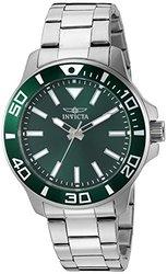 Invicta 46 Or 36mm Pro Diver Quartz Stainless Steel Bracelet Watch (bogo) Green 46mm