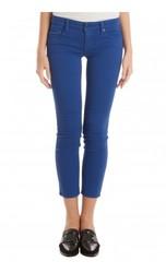 Genetic Women's Brooke Cropped Jeans - Blue - Size: 24