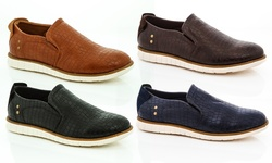 Franco Vanucci Oxford Men's Loafers: Tan/13