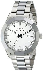 Invicta Men's 18141 Specialty Analog Display Swiss Quartz Silver Watch