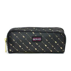 London Soho Cattitude Pencil Case - Multi - Size: One Size