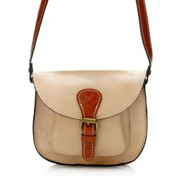 Patricia Nash Women's Argos Flap Over Crossbody Bag - Sand