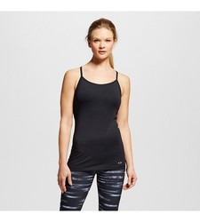 C9 by Champion Women's Performance Fitted Tank Top - Ebony - Size: Large