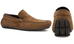 Joseph Abboud Men's Yacht Shoes - Sand - Size: 8