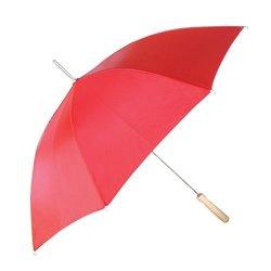 """CKB Auto Open Solid Red Umbrella - Size: 48"""""""