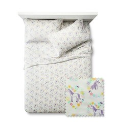Pillowfort Main Mare Sheet 3 Pc Set - Multi - Size: Twin
