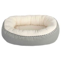 Boots & Barkley Pet Bed - Houndstooth - Large
