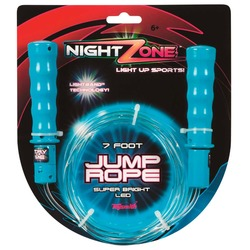 Toysmith Nightzone Jump Rope - Size: 7 Ft