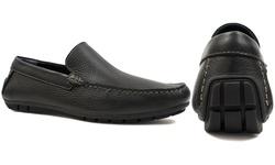 Joseph Abboud Men's Yacht Dress Shoes - Black - Size: 9