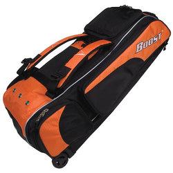 Diamond Boost Wheeled Bat Bag - Texas Orange