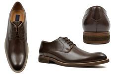 Joseph Abboud Men's Welsey Dress Shoes - Brown - Size: 13