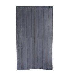 "Threshold 54"" x 95"" Linen Curtain Panel - Navy"