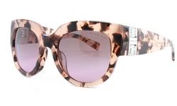 Michael Kors Women's Sunglasses: Bel Air Tortoise Frame-blush Lens