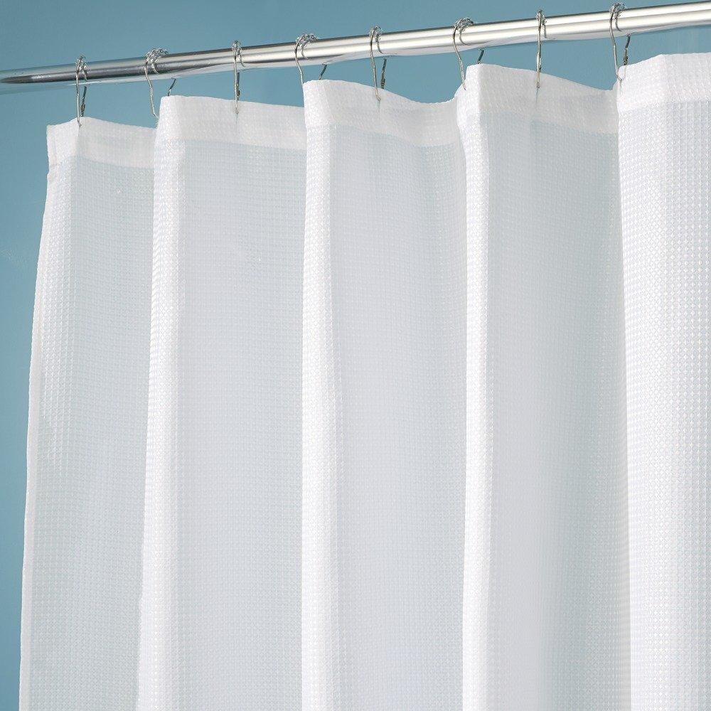 InterDesign 72 In X 96 Extra Long Carlton Shower Curtain