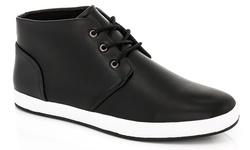 Adolfo Men's Edward Hi Top Sneakers - Black - Size: 9