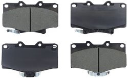 Axxis 45-06110X Extended Duty Premium Metallic Brake Pad Set