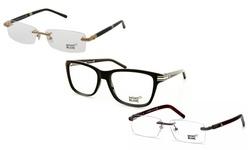 Mont Blanc MB0544 - 001 Unisex Designer Optical Glasses - Black