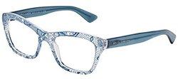 Dolce & Gabbana DG3198 Eyeglasses-2853 Azure Lace-52mm
