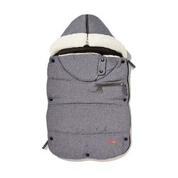 Skip Hop Stroll and Go Three-Season Footmuff - Grey - Size: 12 Months