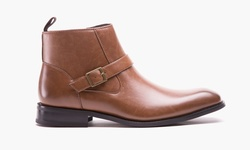 Kenneth Cole Unlisted Cal-ulus Men'sboot: Cognac - Size: 11.5