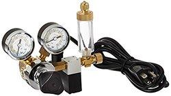 Milwaukee Instruments MA957 Dual-Valve CO2 Adjustable Flow Pressure Regulator, Dual Reading psi and kg/cm
