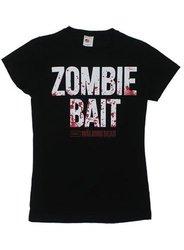 The Walking Dead Zombie Bait Women's T-Shirt Large Black