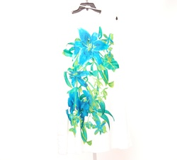 Studio One New York Sandra Darren Floral Dress - Size: 14