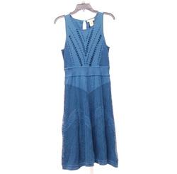 Catherine Malandrino Women's Dress - Blue - Size: Large
