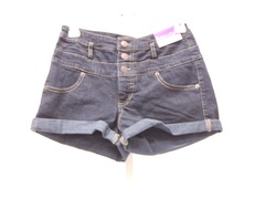 Women's High Rise Shorts - Blue - Size: 6