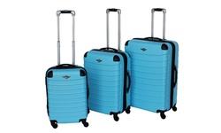 Rivolite Mia Hardside Spinner Luggage Set 3PK - Turquoise