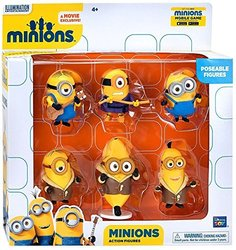"Despicable Me Minions Collectible Figure Set- 6Piece  - 2"""