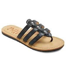 Love Women's Mad Lolita Slide Sandals - Black - Size: 8