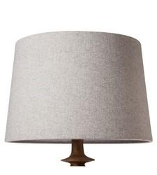 Threshold Herringbone Lamp Shade - Gray - Size: Large