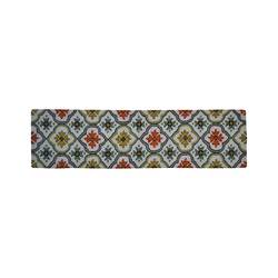 """Threshold Hooked Floral Bell Runner - Cream - Size: 1'10"""" x 7'"""