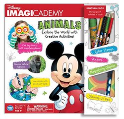 Wonder Forge Disney Imagicademy Mickey Mouse Activity Book - Animals