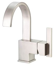 "Danze Sirius 4"" Centerset 1-Handle Faucet w/ Side Handle - Brushed Nickel"