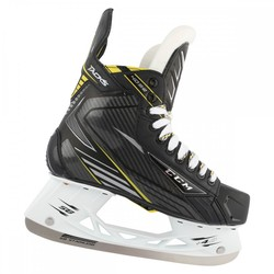 CCM Tacks 4092 Sr. Ice Hockey Skates - Black/Yellow - Size: 8.5