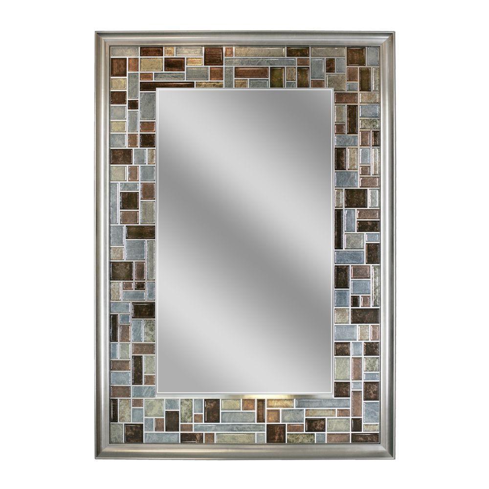 bathroom mirror frame tile. Delighful Tile Deco Mirror 34 Intended Bathroom Frame Tile