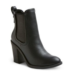 Merona Women's Charli Booties - Black - Size: 7.5
