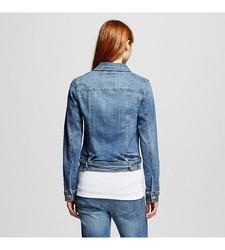 Mossimo Women's Denim Jacket - Blue - Size: XX-Large