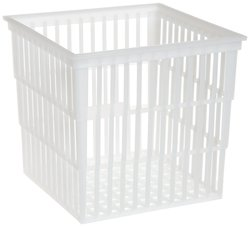 "SP Scienceware Bel Art Polypropylene Test Tube Basket - Size: 6""L x 6""W"