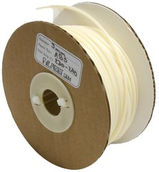 Filabot ABS Plastic 3D Printing Filament 1 lb Spool - White - Size: 3mm