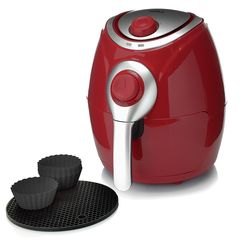 Cook's Companion 2.2 QT High Speed Air Fryer with Baking Cups - Marlot