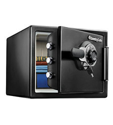 Sentry Safe 0.8 Cubic Foot Combination Lock Fire Safe - Black