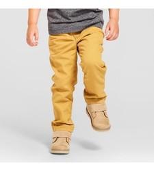 Oshkosh Boy's Chino Pant - Coronet Gold - Size: 12 Month
