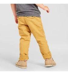 Oshkosh Boy's Chino Pant - Coronet Gold - Size: 4T