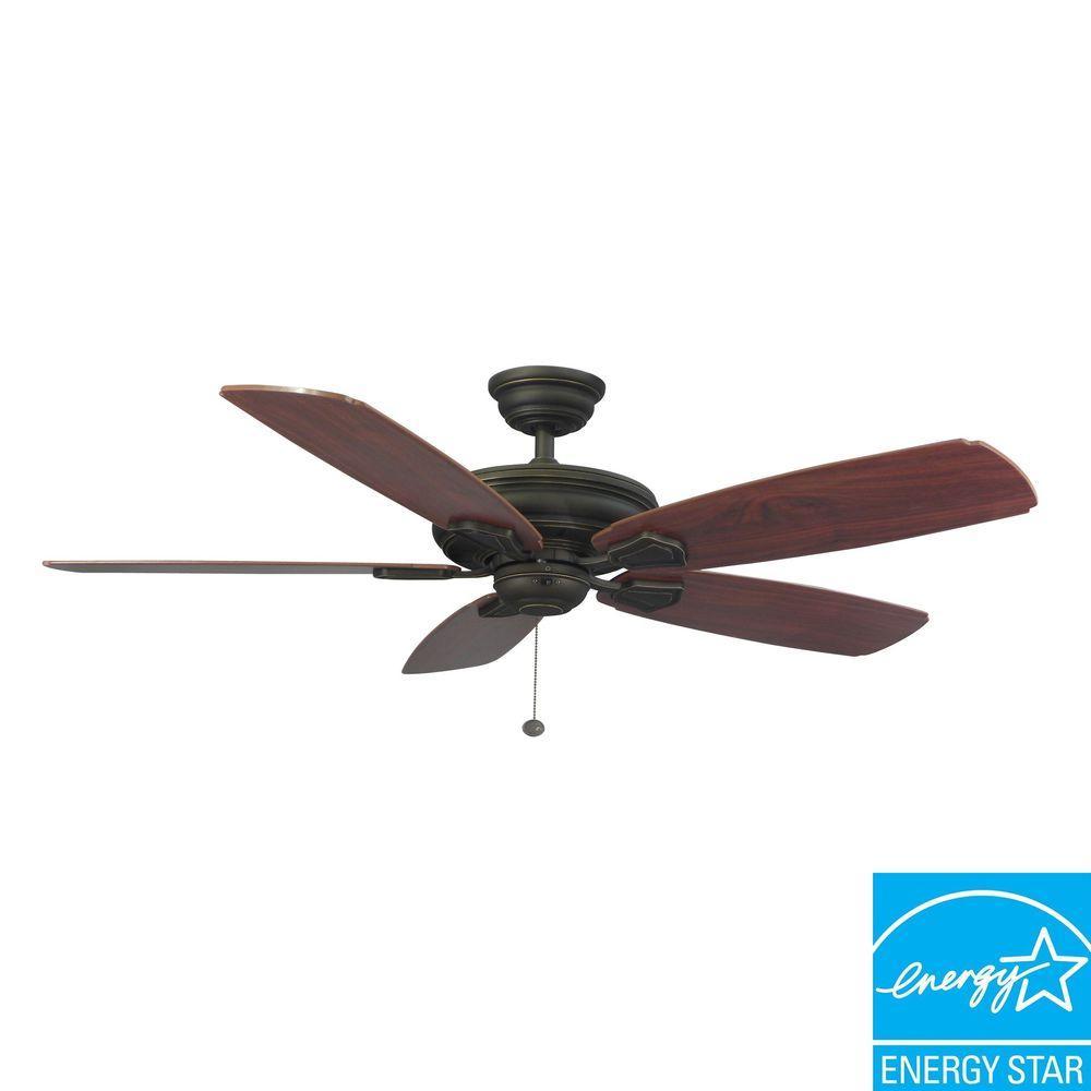 Hampton bay 51218 heirloom 52 outdoor oil rubbed bronze ceiling fan fan hampton bay 51218 heirloom 52 outdoor oil rubbed bronze ceiling aloadofball Image collections