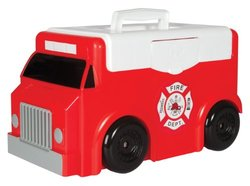 Toytainer Fire Trunk Play-N-Store