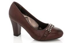 Rasolli Women's Comfort Career Dress Shoes - Brown - Size: 8.5