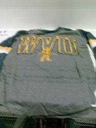 Women's NCAA WVU Long Sleeve Shirt - Gray - Size: XL